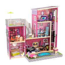 Kidkraft Uptown Dollhouse | Girls Wooden Doll House Fits Barbie Dolls