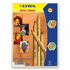 Lyra Color Giants Skin Tone Colored Pencils - 6.3 Mm Lead Size - Assorted Ink -