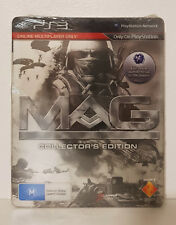 MAG Collector's Edition PS3 Brand New Sealed AUS PAL SteelBook Tin