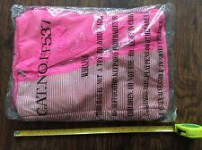 Hot Neón Rosa Brillante Retro 80s Bolso de playa de verano bolsa de deporte Rosa Bolso BNIP Nuevo
