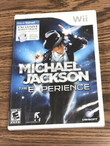 Michael Jackson: The Experience Nintendo Wii Game COMPLETE w/ Manual & Inserts