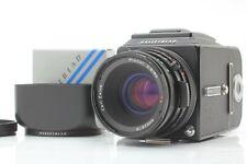 【N MINT w/Hood】Hasselblad 500CM C/M Black + CF 80mm f/2.8 + A12 II JAPAN #552