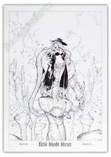 Affiche BD Alessandro BARBUCCI Ekho Signé 50x70 cm