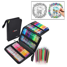 121X Glitter Gel Marker Pens Refills Set Coloring Pens for Art Drawing Painting