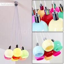 Lampe suspension moderne Plafonnier Lustre Lampe pendante multicolore Luminaire