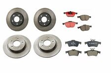 Mazda 3 L4 2.3L 2004-2007 Front & Rear Rotors & Pads Brake KIT