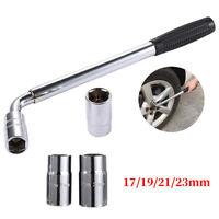Extendable Wheel Telescopic Car Van Brace Socket Tyre Nut Wrench 17/19/21/23mm