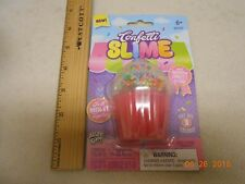 🎉 BIRTHDAY CONFETTI SLIME PUTTY CUPCAKE RAINBOW BEADS ALLEY OOP Easter GIFT