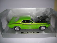 NewRay 1970 Plymouth Cuda vert Muscle Car Collection 1:25 Art. 71873