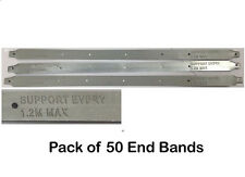 Pack of 50 Scaffold Board End Bands - Latest Design