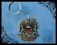 Queen Logo Band Keychain / Keyring Freddie Mercury Key chain