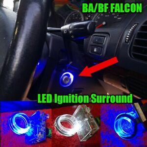 BA/BF Falcon BLUE Ignition Key Barrel LED converted Illumination Unit