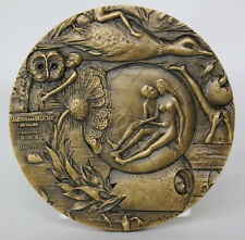 """ART/ PAINTING/ Dutch Painter BOSCH """"The Garden of Earthly Delights"""" Bronze Medal"""