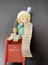 Enesco Precious Moments May All Your Wishes Come True Christmas Ornament #550701