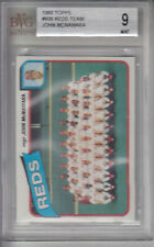 1980 Topps Card #606 Reds Team REDS Z16271 - BVG Mint (9)