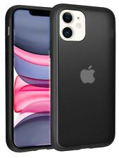 iPhone 11 Case for Man [Hard Black], Smooth touch, Lightweight, Protective Cover