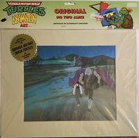 Teenage Mutant Ninja Turtles Shredder 1987 Hand-Painted Original Production Cel