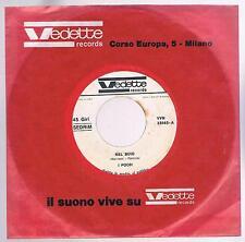 "POOH NEL BUIO / LA SOLITA STORIA PROMO JUKE BOX 1967 - 7"" 45 GIRI"