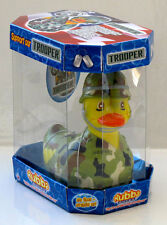 Trooper Army Rubber Rubba Duck NIB 360 Collector's Case Gift Box Birthday