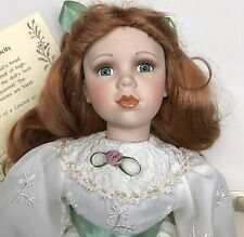 "The Prestige Collection ""Marcy"" Porcelain Doll 21"" COA #868 of 3500"