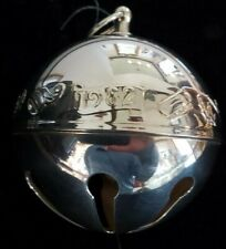 Wallace Silversmiths 1982 Annual Christmas Bell Ornament in Box silver plate