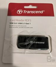 Transcend RDF5 Super Speed USB 3.1 Gen 1 Interface Card Reader RDF5K