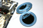 """SCUNCI   go DUAL MIRROR COMPACT MAGNIFYING  REGULAR MIRRORS 2-1/2"""" TRAVEL HOME"""