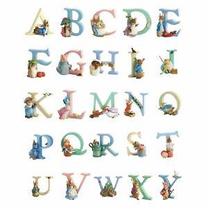 Beatrix Potter Alphabet Letters Peter Rabbit Children Bedroom Nursery Home Decor