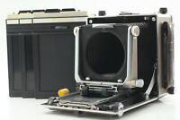 [Exc+5] Linhof Super Technika V Large Format Camera 4X5 Cut Film Holder X3 Japan