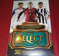 2017-18 Panini Select Soccer Hanger Box 3 Checkerboard & 2 Clutch Av Pos Kaboom