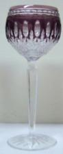 Waterford Crystal Amethyst Purple Clarendon Hock Wine Goblet