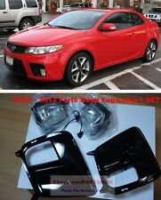 For KIA FORTE KOUPE 2010 2011 2012 Fog Light Lamp+Cover+Wire 1SET Genuine Parts