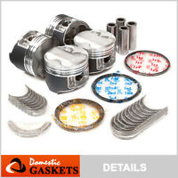 97-01 Acura Integra Type-R 1.8L DOHC Pistons and Bearings and Rings Set B18C5