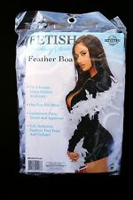 White Feather Boa for Halloween Costumes Strippers Bachelorette Tease 5 Ft. Long