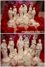 16 x  GIEßFORMEN   12 cm  KRIPPENFIGUREN     gießform krippe weihnachten
