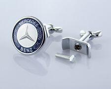 45MM Car Front Flat Hood Bonnet Emblem Badge Logo for Mercedes Benz A C E S AMG