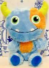 Build a Bear Smallfrys Buddies Toothy Monster Plush Halloween Doll Alien Scary