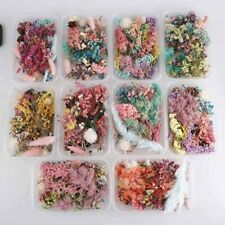 Dried Flower Box For Aromatherapy Epoxy Resin Necklace Jewelry DIY Accessories