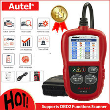 Autel AL319 OBD2 Fault Code Reader Engine OBDII Diagnostic Scanner Free Update