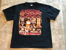 Vintage 90s Cannibal Corpse Live Death Band Tour Graphic T-Shirt Adult Size XL