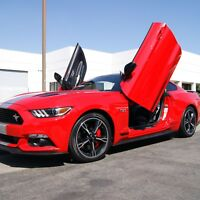 Lambo Doors Ford Mustang 2015-2019 Door Conversion kit Vertical Doors, Inc., USA