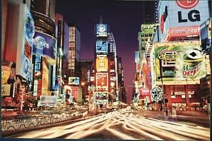 Times Square New York NY 2007 Jigsaw Puzzle 2000 pieces Buffalo Brand 38x26