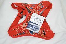 New listing Wrap and Snap Choke Free Dog Harness - Tahiti Red