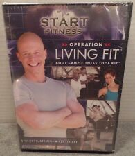 3 DVD SET START FITNESS Operation Living Fit BOOT CAMP TRAINING KIT AT HOME