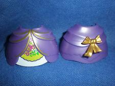 Playmobil Rock Reifrock goldene Schleife Prinzessin Hofdame lila unbespielt top