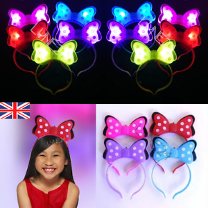 Party LED Light Up Headband Luminous Glow Hair Band