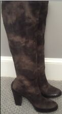 Sexy!  Pull on knee high boots by Donald J Pliner sz  ladies 8 1/2 med
