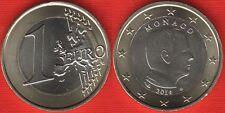 "Monaco 1 euro 2014 km#194 ""Albert II"" BiMetallic UNC"