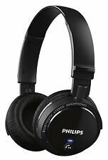 Philips SHB5500BK Wireless Clear Sound Bluetooth Headphone (Black) (SMP4)