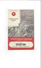 Division 1 Teams S-Z Sheffield United Football Programmes